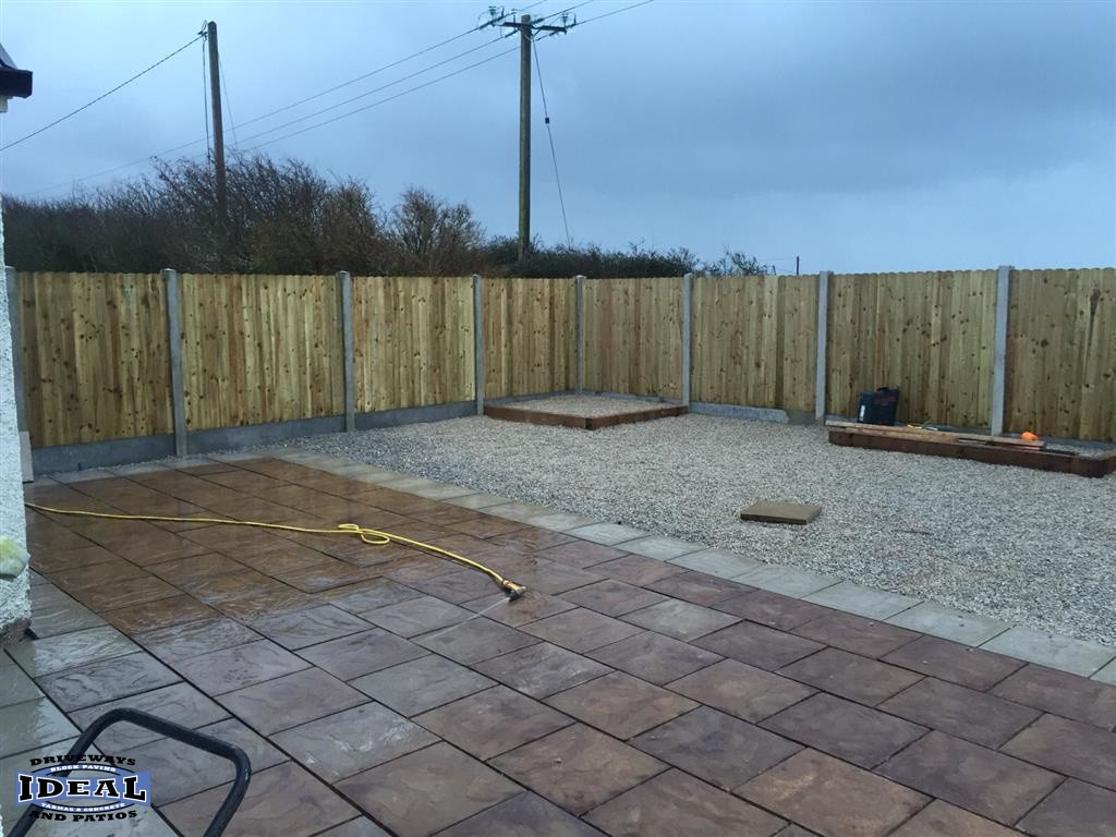 Patio Completed in Waterford