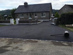 Tarmac entrance
