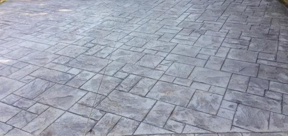 Imprinted Concrete Cork