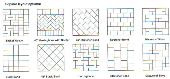 Driveway Paving Patterns