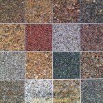 Resin Bonded Colour Choices