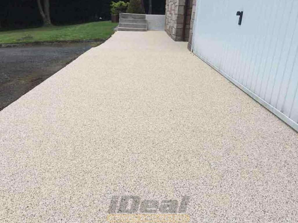 Resin patio Cork