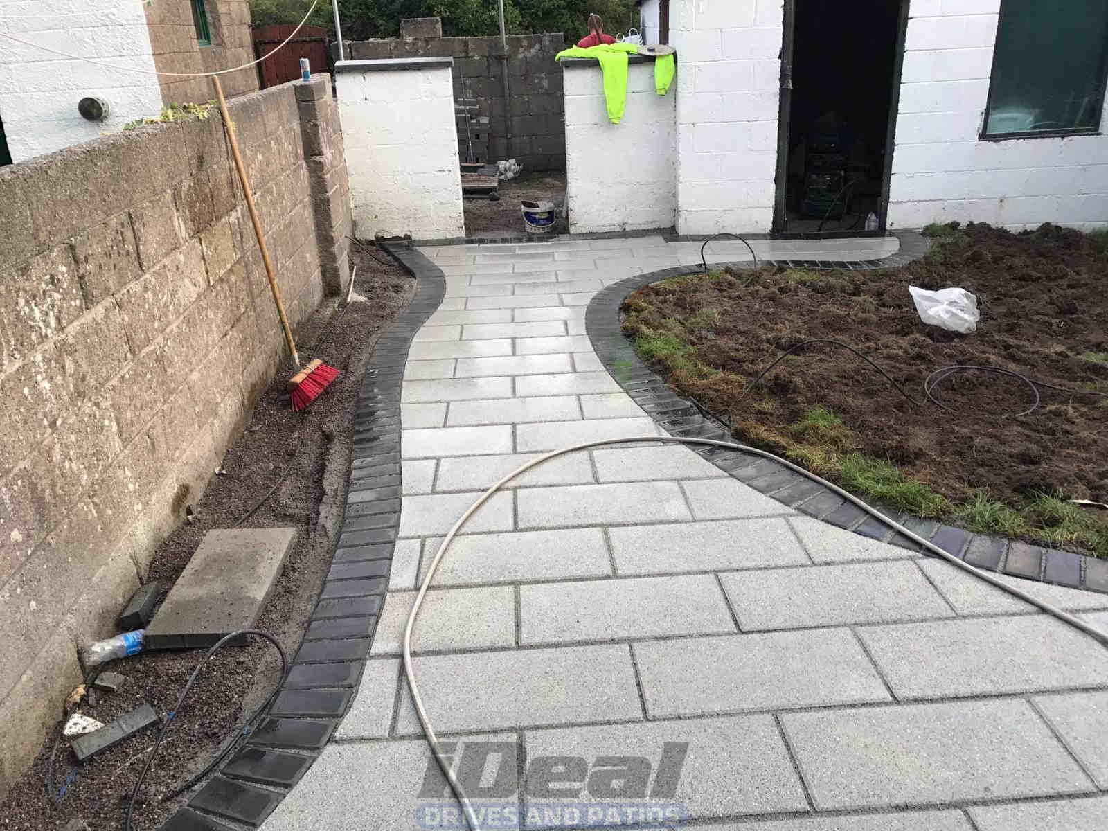 Completed Renovation Of Patio in Mayfield, Cork